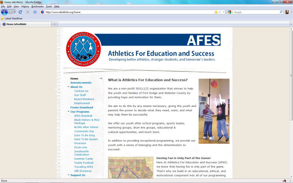AFES-screen-shot