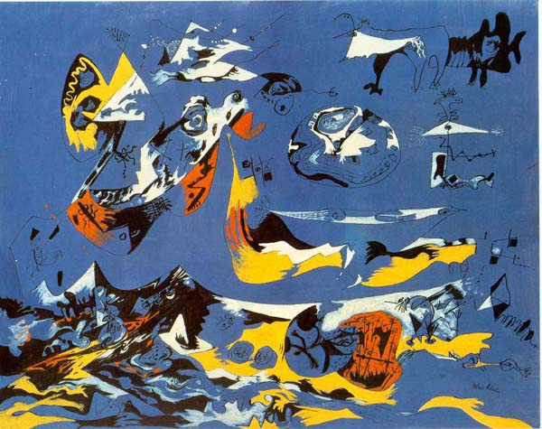 Jackson-Pollock-painting-blue-moby-dick