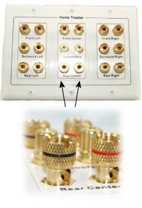 Audio Wall Plate