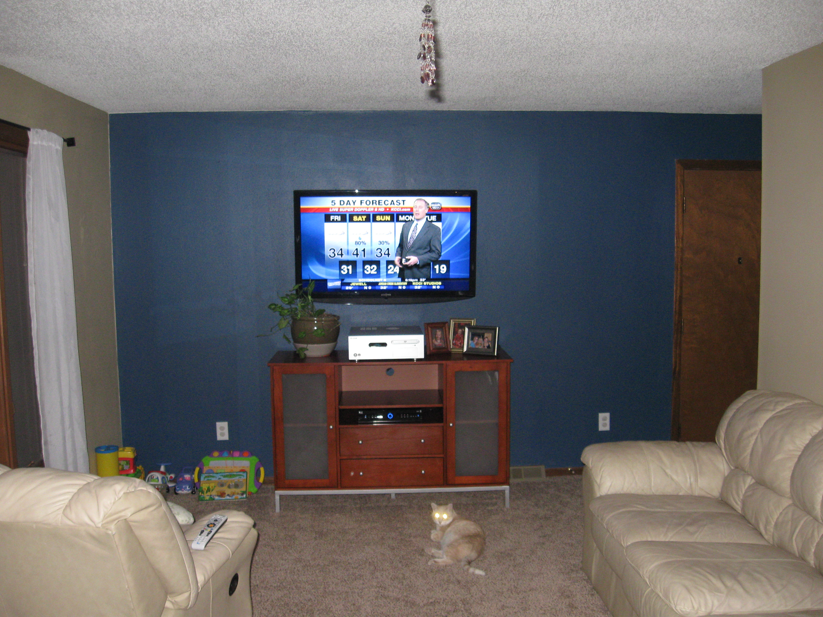 How To Run Hdmi Cable Through Existing Construction Drywall Ethernet Walls Flat Screen Wall Mounted Furniture