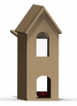 Cat House Rendering - SolidWorks