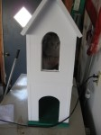 2 Story Cat House with Window