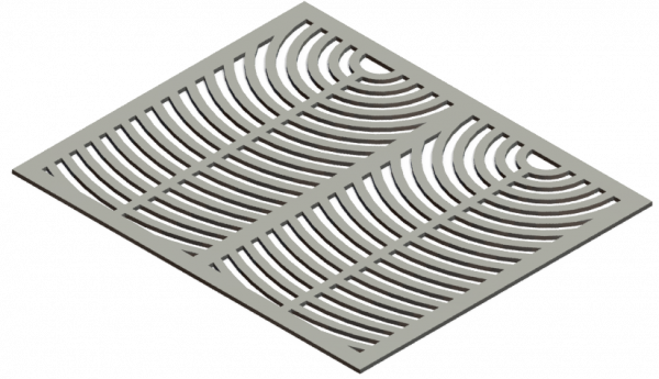 HVAC Custom Decorative Vent Cover - Sunrise 2