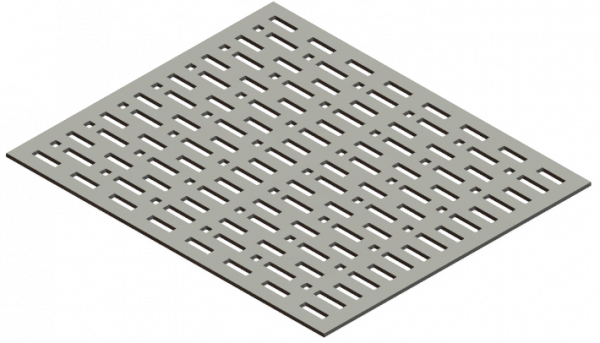 HVAC Custom Decorative Vent Cover - Two-Bits