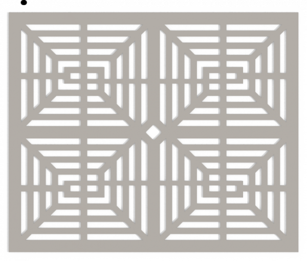 HVAC Custom Decorative Vent Cover - Victorian 1