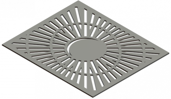 HVAC Custom Decorative Vent Cover - Saturn 2
