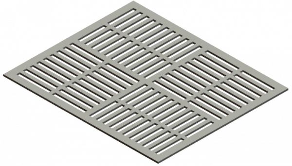 HVAC Custom Decorative Vent Cover - Prairie 3