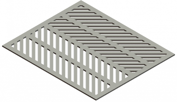 HVAC Custom Decorative Vent Cover - Herring 2