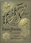 Kunstformen der Natur - Art Forms of Nature - 1904 - cover