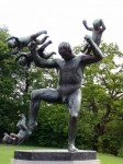 <b>Just a Statue of a Man Fighting Babies</b>
