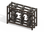 <b>U-Bolt Rack Design: Tube Steel &amp; Adjustable Modular Racks</b>