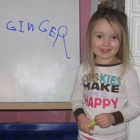 Ginger Can Write! (To Russia, With Love.)