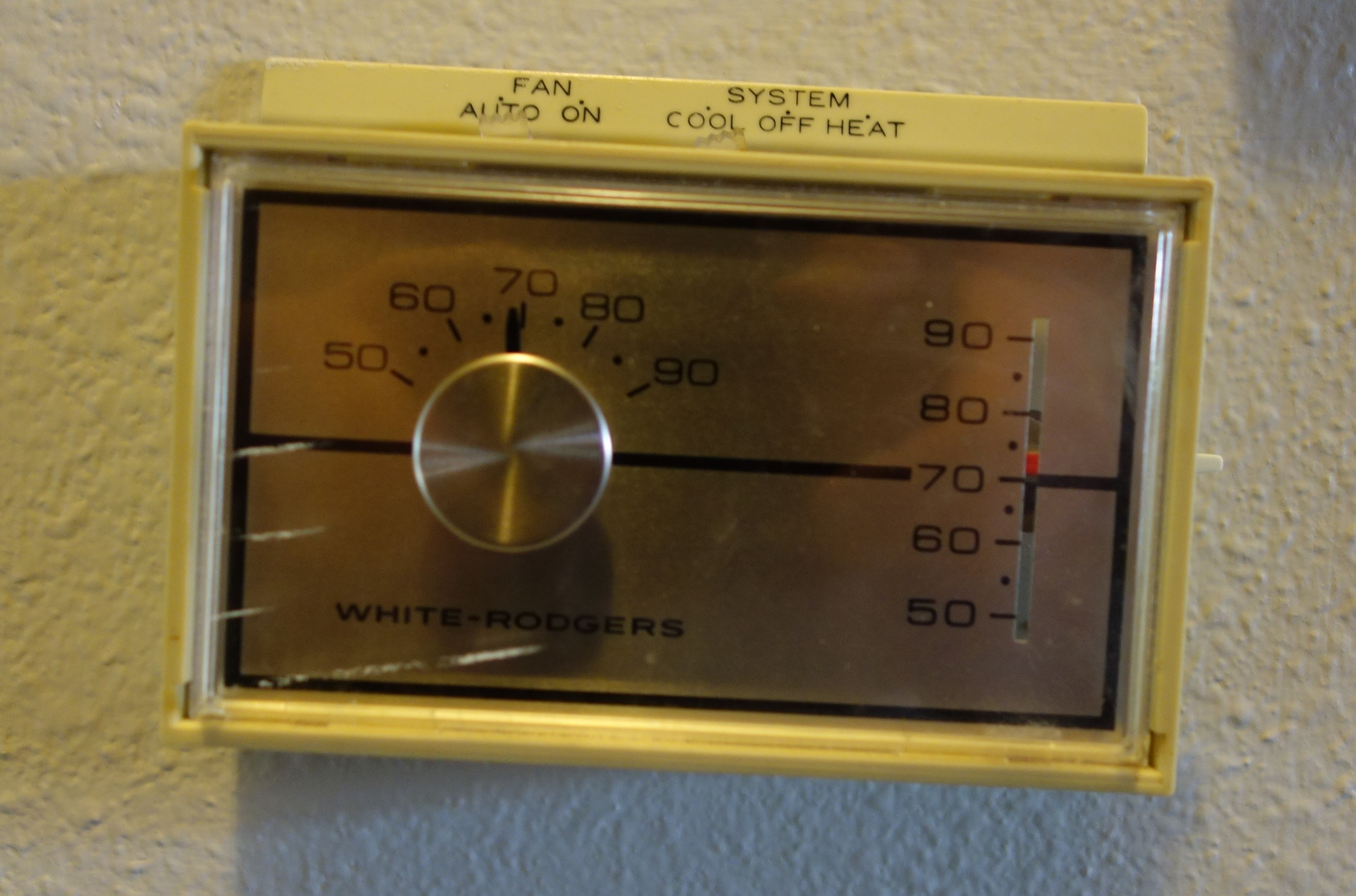 Nest Compatibility  Hvac Controls  Mid 1970s Thermostat 1