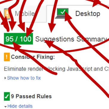 I Got 95/100 Google PageSpeed Insights Score!?