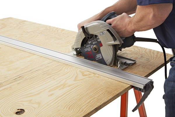 straight edge saw tool - Honestly, you do not need to be this accurate, but in lieu of chalk line, you will want something straight to draw cut lines