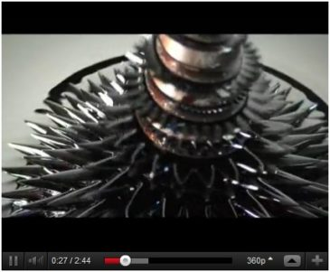 Liquid Magnetic Sculpture Video
