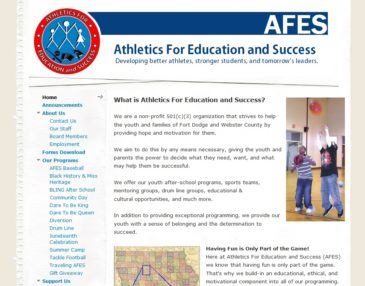 AFES: Athletics For Education and Success