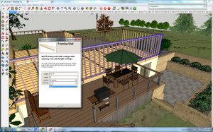 Sceenshot of Google SketchUp Dynamic Components menu