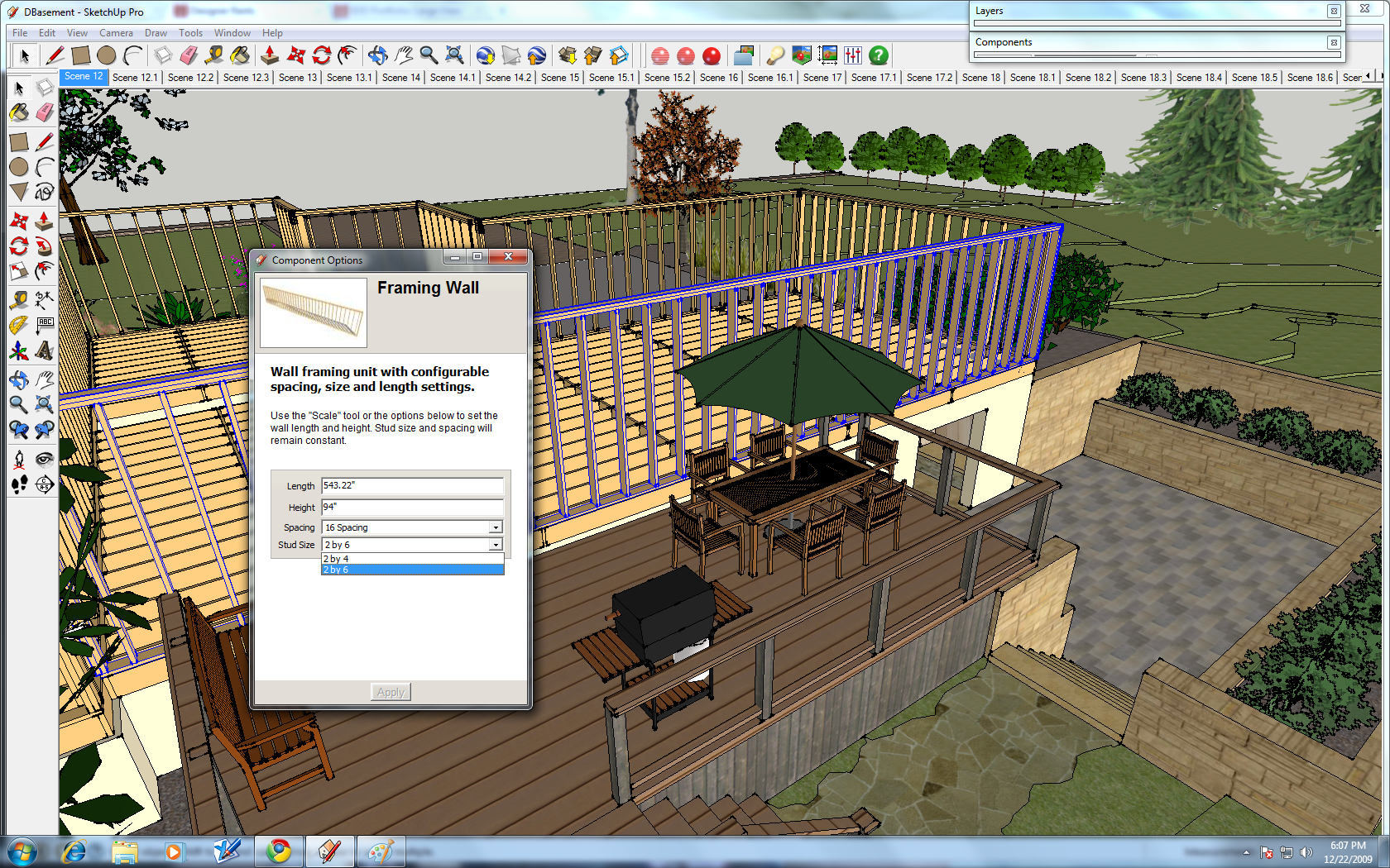 Google Sketchup Dynamic Components In Design Kitchen  Cheap Sketchup
