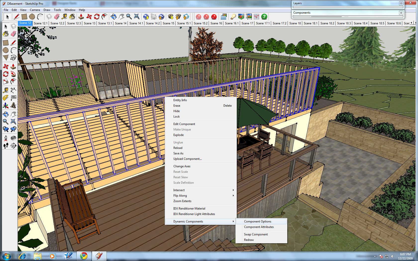 SketchUp's Dynamic Components | Kris Bunda Design
