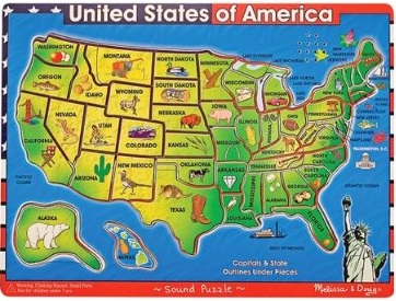 50 State Jigsaw Puzzle