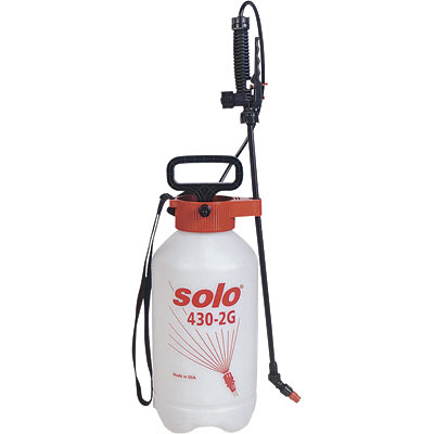 Use a Hand Held Sprayer for weeding maintenance