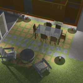 Patio Project Design Renderings