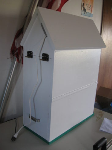 Finished Pet House - Back View
