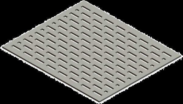 HVAC Custom Decorative Vent Cover - Streaming