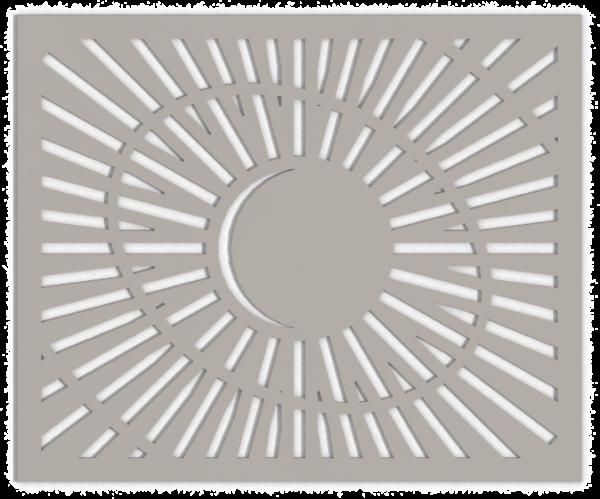 HVAC Custom Decorative Vent Cover - Saturn 1