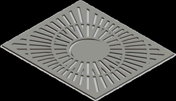 HVAC Custom Decorative Vent Cover - Saturn 2
