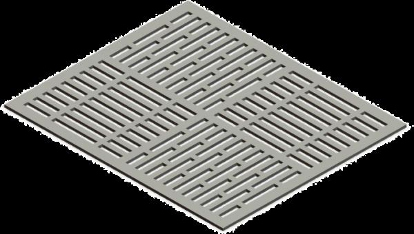 HVAC Custom Decorative Vent Cover - Prairie 1
