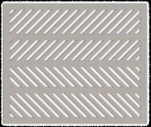 HVAC Custom Decorative Vent Cover - Herring