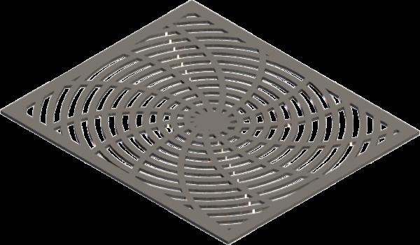 HVAC Custom Decorative Vent Cover - Warp 1 (13 Rays)
