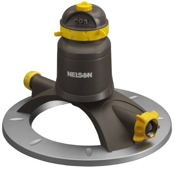Nelson brand - adjustable rotary lawn and garden water sprinkler