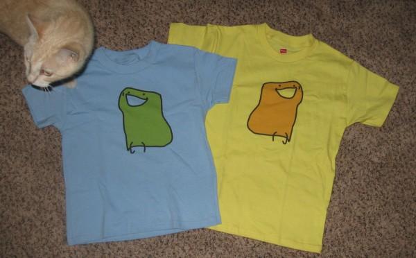 2 Bun Shirts and Ethel