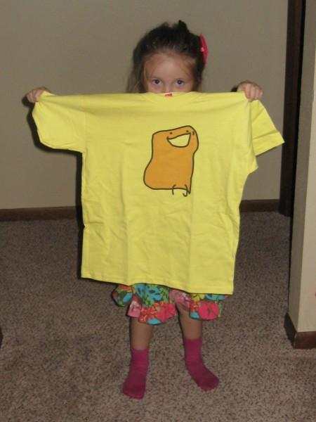 Ginger Yellow Bun Shirt