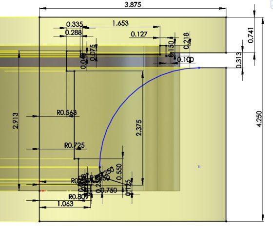 3D CAD Modeling - Solidworks - How To - Fuel Pump Mount Close Ups - 3