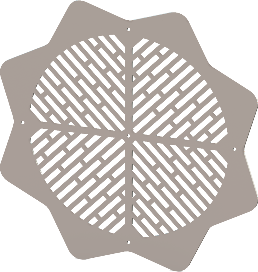 Custom Vent Covers – Round Decorative HVAC Grate Designs