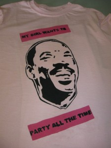The Finished Product - Eddie Murphy T-shirt