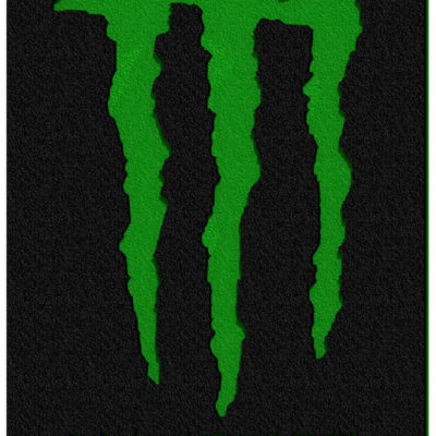 "CAD rendering for a ""Monster Energy Drink"" themed 4 wheeler's bumper"