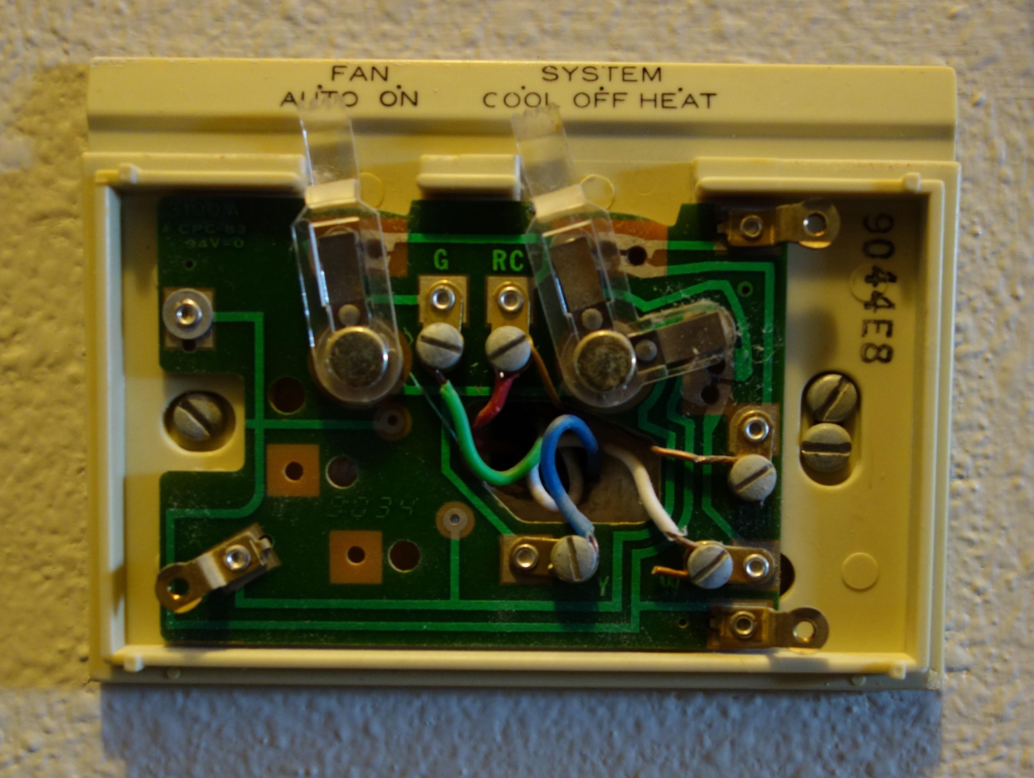 Nest Compatibility Hvac Controls Mid 1970s Thermostat 3