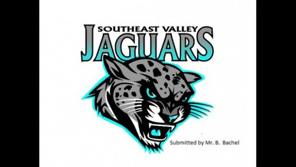 This Jaguar has hidden pictures. The head of the Jaguar contains a Warrior, an Eagle, letters PVS and SWG. Can you find them? The mascot was created by Mr. Bryan Bachel, Art instructor at Prairie Valley.