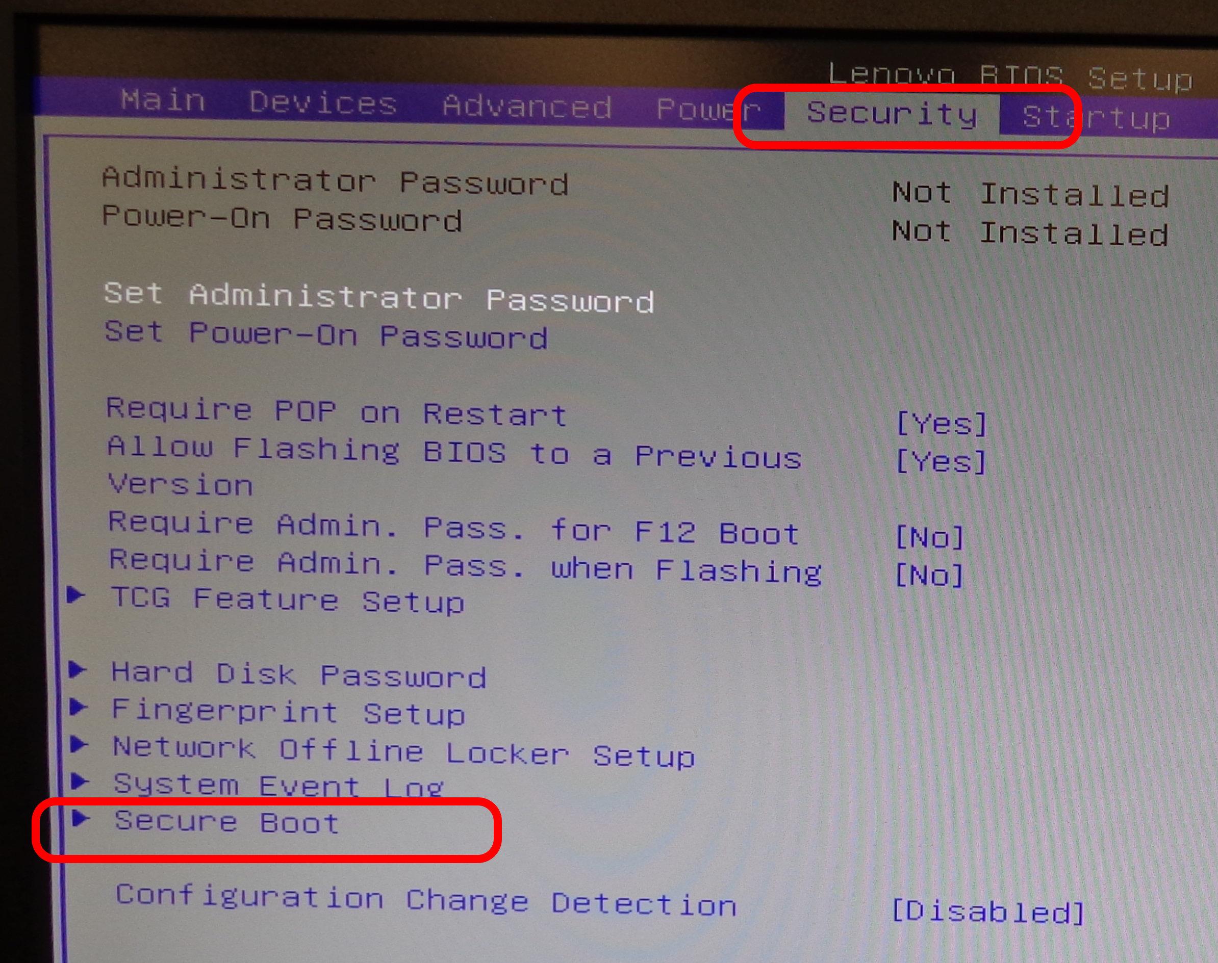Lenovo ThinkStation Probs: BIOS Issues & Windows7 Boot
