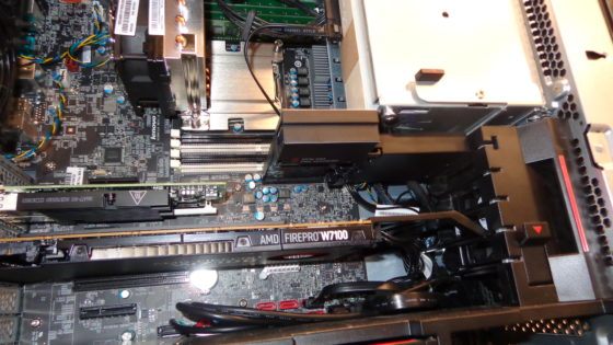 Lenovo ThinkStation P500 with AMD FirePro W7100 and Samsung M-2 PCIe SSD 2