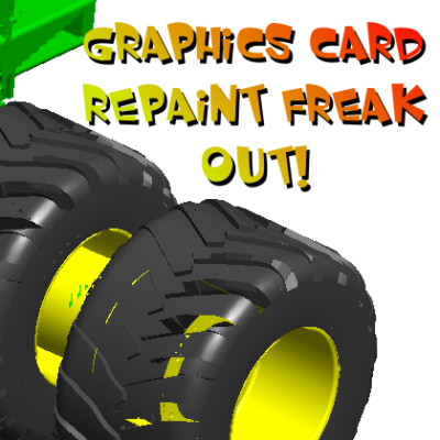 SolidWorks Graphics Card Repaint Freak Out