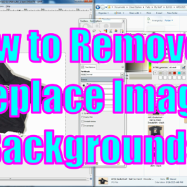 [VIDEO] How To Remove & Replace Image Backgrounds Using Free Software