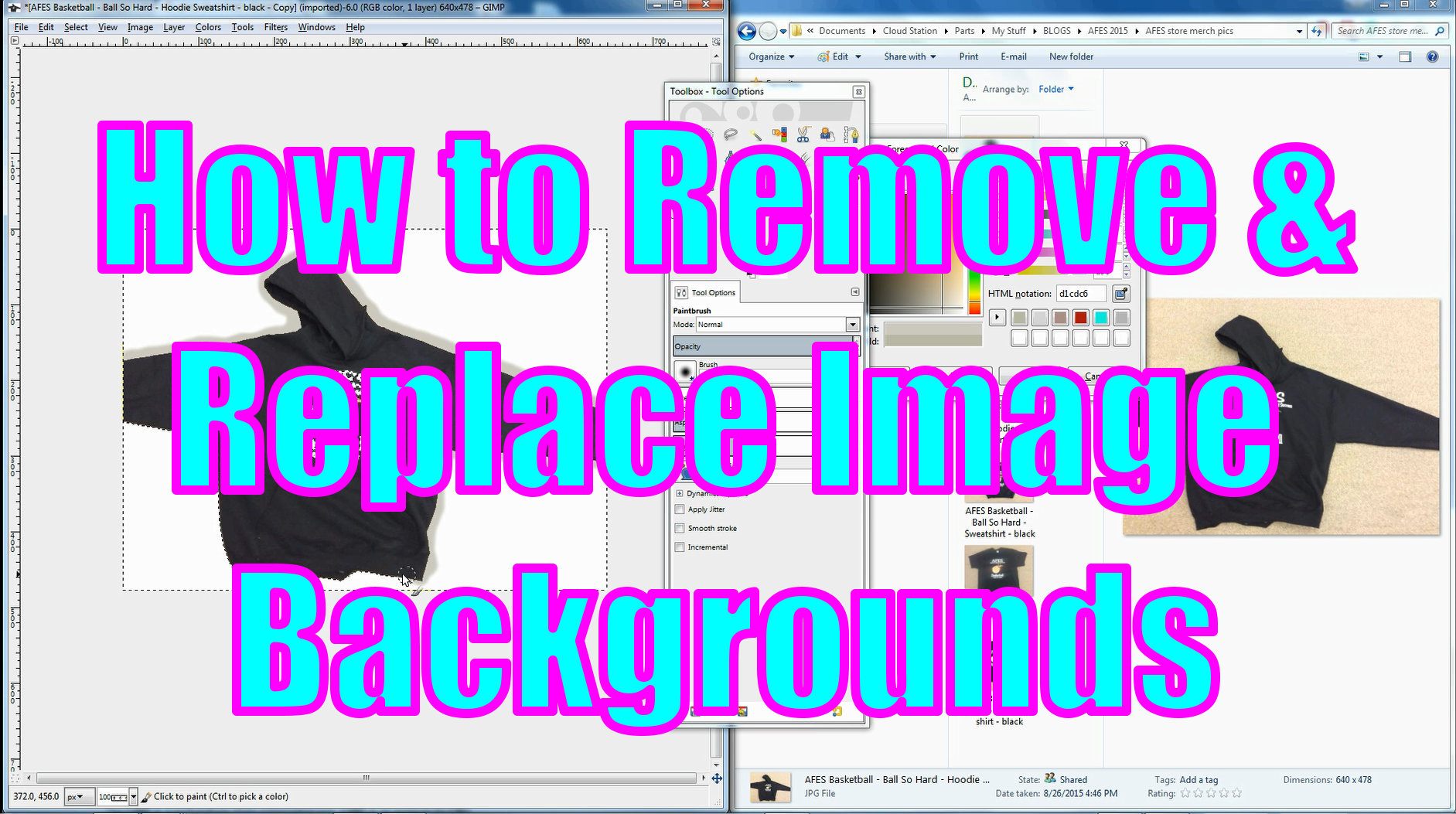 REMOVE IMAGE BACKGROUNDS THUMBNAIL