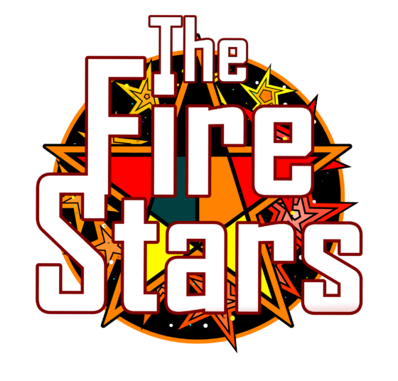 Logo created for the Fire Stars Lego League Team