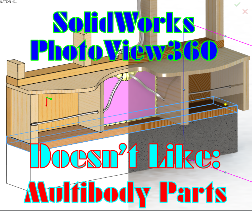 SolidWorks PhotoView360 just doesn't get multibody part files